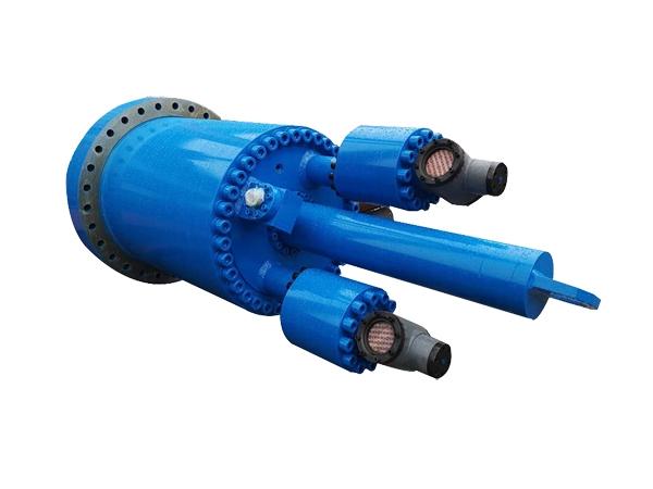 Waste steel slag hot melt press cylinder (including filling valve)